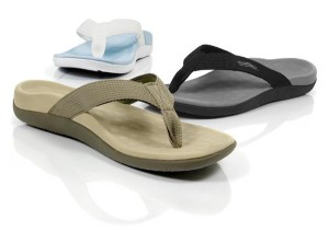 Vionic flip flops with arch support
